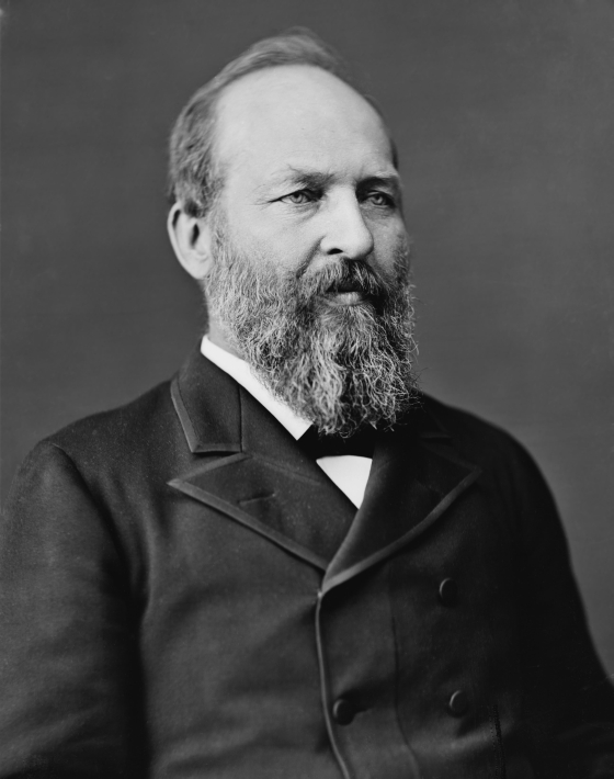bankers wars-17 james garfield