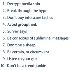 10 Ways to Avoid Brainwashing